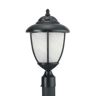 Sea Gull Lighting 82950PBL-12 Yorktowne - One Light Outdoor Post Lantern