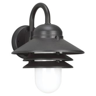 Sea Gull Lighting 83055BLE-12 Nautical - One Light Outdoor Wall Mount