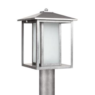 Sea Gull Lighting 89129BL-57 Hunnington - One Light Outdoor Post Lantern